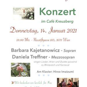 Winterstimmung Konzert 14.1.2021